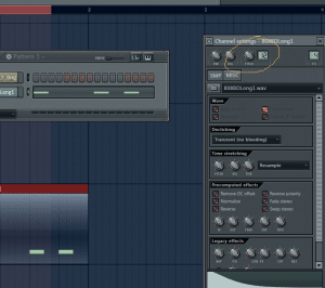 Channel Settings window in Fl Studio