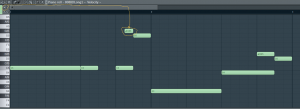 FL Studio Piano Roll 808s portamento notes